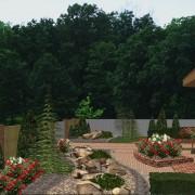 Проектирование озеленения территории, эскиз 7